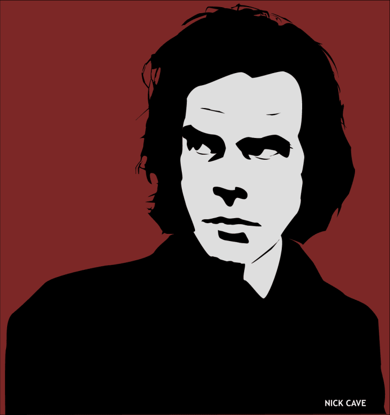 Nick Cave - One of my all time favourite muso's.
