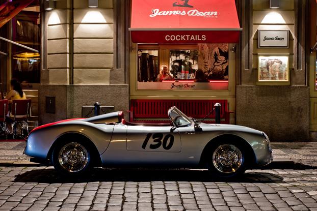 James Dean's Porsche 550 Spyder