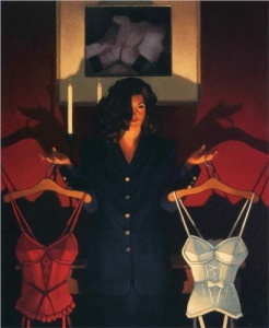 Heaven or Hell - The Sweetest Choice - Jack Vettriano