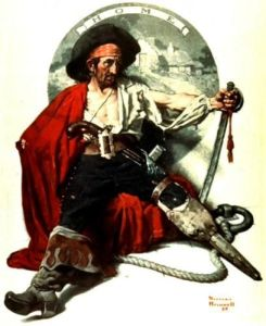 Pirate - Norman Rockwell