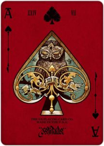 REQUIEM PLAYING CARDS DECK by Lorenzo Gaggiotti, via Behance