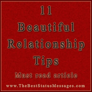 11 Must read beautiful relationship tips