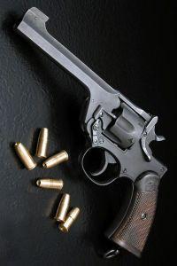 Webley revolver .455 caliber, 1915