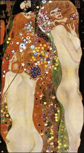Water Serpents II, c.1907 by Gustav Klimt.