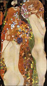 Water Serpents II, c.1907 by Gustav Klimt.